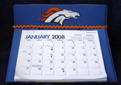 Denver Broncos Calender