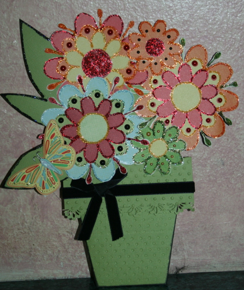 flower pot card_001
