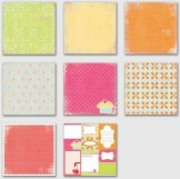 sweet cakes paper collection
